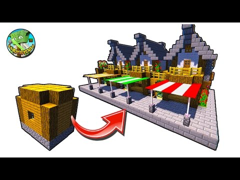 How to Transform a Minecraft Village Dirt House by andyisyod