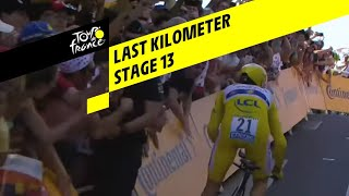 Bekijk de laatste kilometer van de winnende tijdrit in de Tour de France 2019