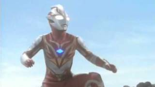 Ultraman Mebius and Ultraman Leo