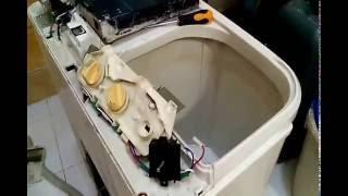 Cara Mengganti Timer Mesin Cuci SHARP 2tabung