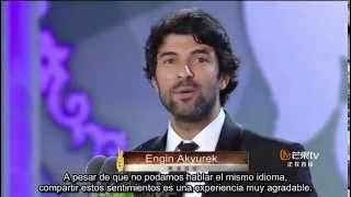 Engin Akyürek- Seoul International Drama Awards  Sub. Español