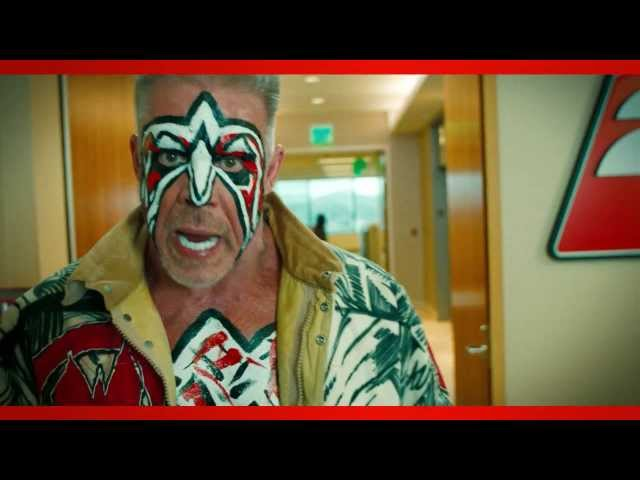 WWE 2K14 pre-order bonus Ultimate Warrior visits the 2K offices (Official)