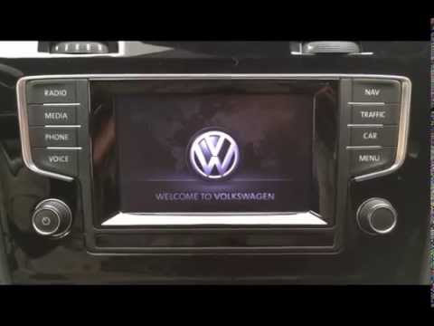 2010 Vw Golf Wiring Diagram Vw Discover Media Reboot Youtube