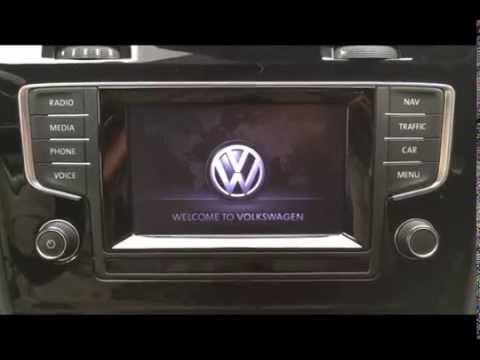 VW Discover Media Reboot  YouTube