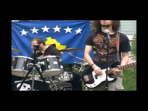 Kosovo independence party concert. AUBG, Blagoevgrad, Bulgaria, 2008