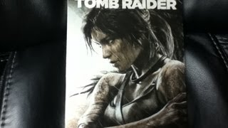 "Tomb Raider ""Steelbook"" Edition Unboxing {European Exclusive}"