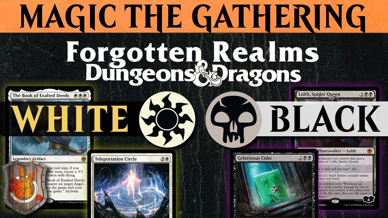 AFR - Black & White Review Forgotten Realms | The Command Zone #412 | Magic The Gathering Commander