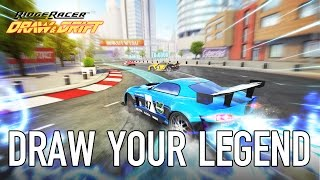 Ridge Racer Draw & Drift - Android/IOS - Draw your legend!