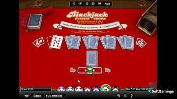 1X2 Network - Blackjack Players Choice - GamePlay Video