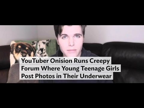 RE: Onision Runs Creepy Forum Where Young Teenage Girls Post Photos in Their Underwear
