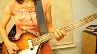 """Old Brown Shoe"" (The Beatles) bass guitar by Maggie8181"