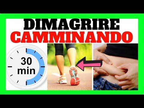 Come DIMAGRIRE CAMMINANDO 30 Minuti Al Giorno