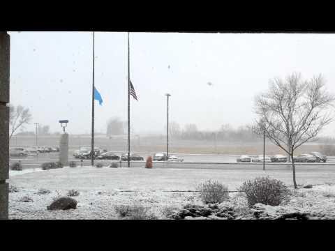 Snowfall on December 7, 2012
