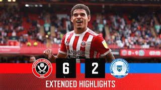 Шеффилд Юнайтед  6-2  Питерборо Юнайтед видео