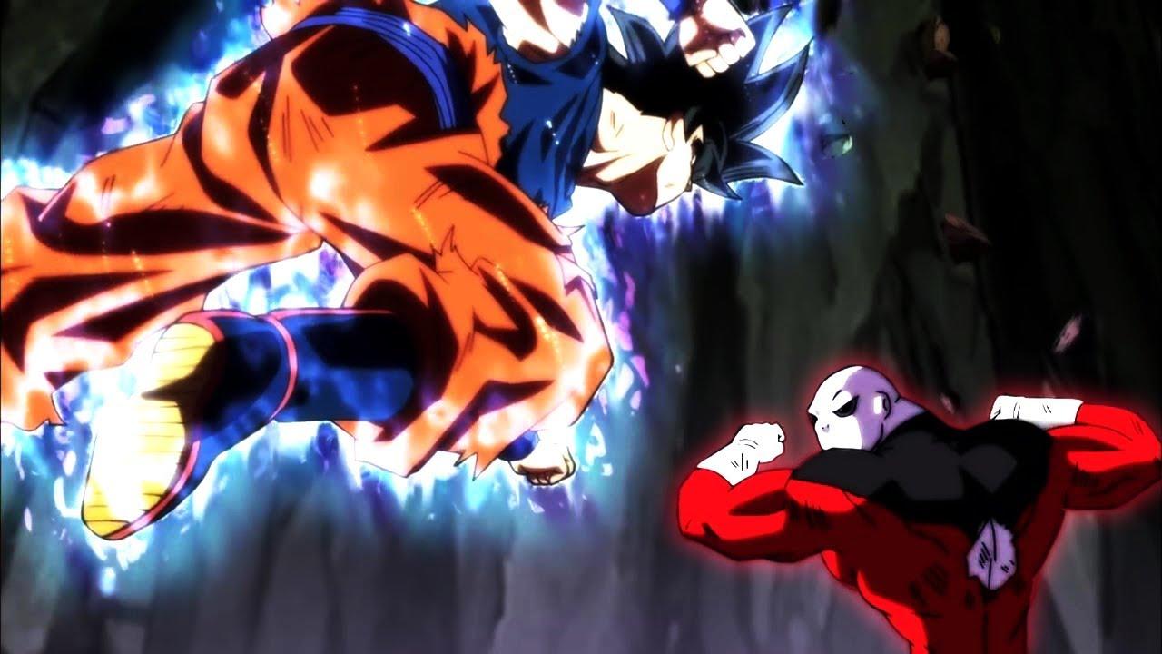 Ultra Instinct Goku Vs Jiren Dragonball Super Folge Episode 129