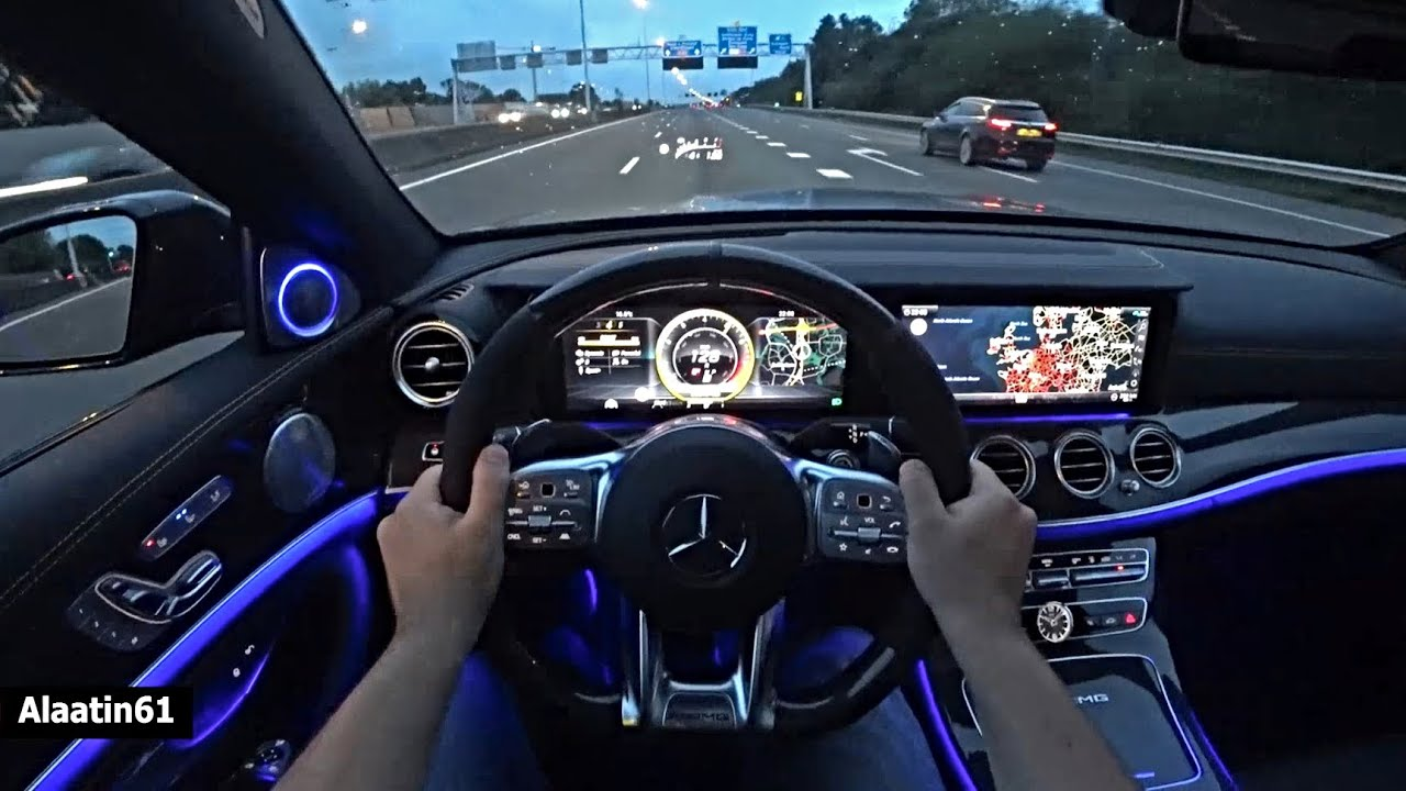 THE MERCEDES AMG E63 S EDITION 1 TEST DRIVE