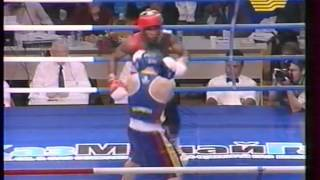 Mario César Kindelán Mesa - Ruslan Musinov   CUBA - KAZAKHSTAN Boxing 2002 ov