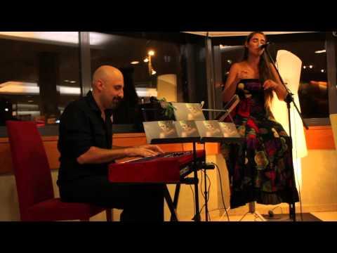 Duelant Anna Herrero i Claudio Nervi