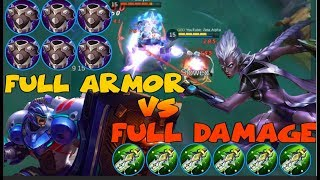 FULL ATTACK DAMAGE KARRIE vs FULL ARMOR JOHNSON| WHO IS GOING TO WIN? (99% WILL FAIL!)