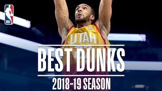 Rudy Gobert's Best Dunks | 2018-2019 NBA Season | #NBADunkWeek
