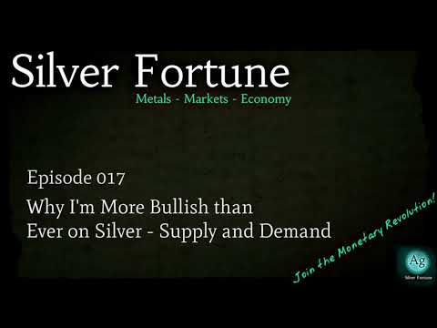 Why I'm More Bullish than Ever on Silver - Supply and Demand - Episode 017