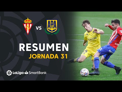 Gijon Alcorcón Goals And Highlights