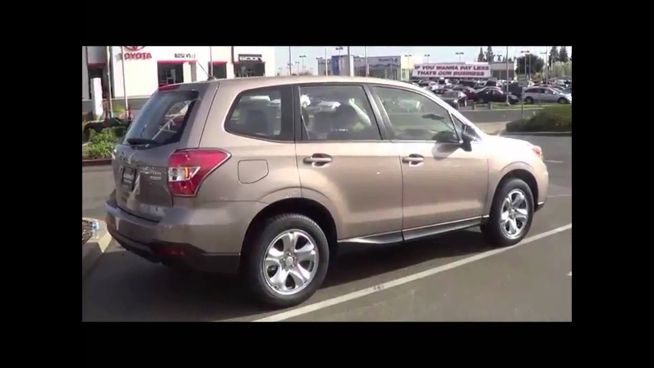 2014 Subaru Forester Automobile Video Car Review By