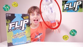 Water Bottle Flip Challenge LE JEU DE SOCIETE • Hasbro Gaming - Studio Bubble Tea unboxing