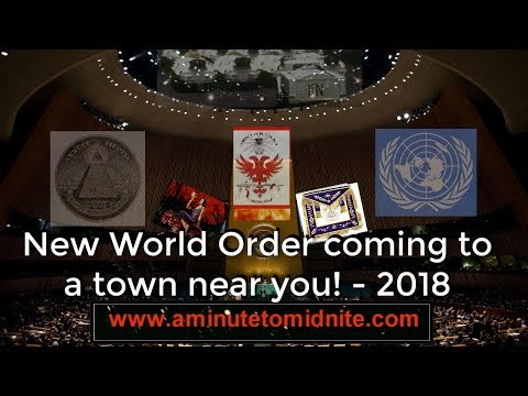 New World Order coming to a town near you !!  - 2018