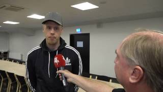 "Pontus Jansson på Malmöbesök: ""Det hade varit enormt coolt"""