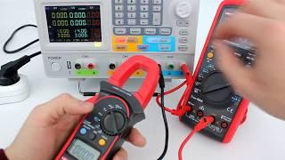 UT204A - токовые клещи Uni-T, оценка точности измерений, обзор функциональности