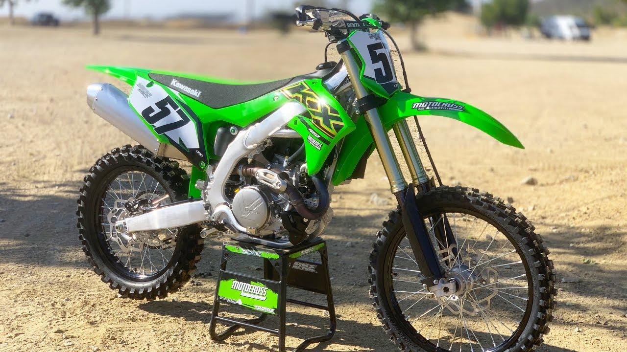 video Kawasaki KX 450