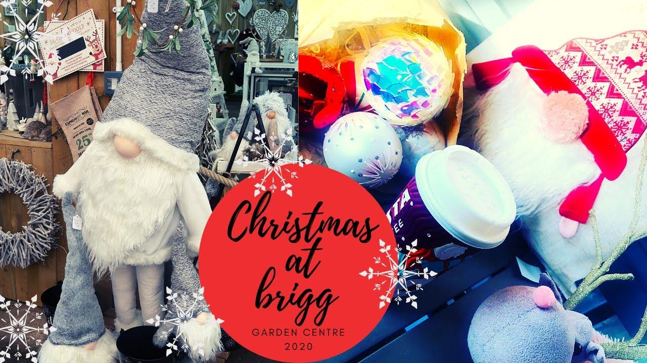 Garden Centre Christmas 2020 Christmas At Brigg Garden Centre Christmas Decorating Shopping Youtube