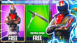 "NEW Fortnite SKINS! - How To Get FREE SKIN ""Burnout"" Fortnite Battle Royale (New Fortnite Update)"
