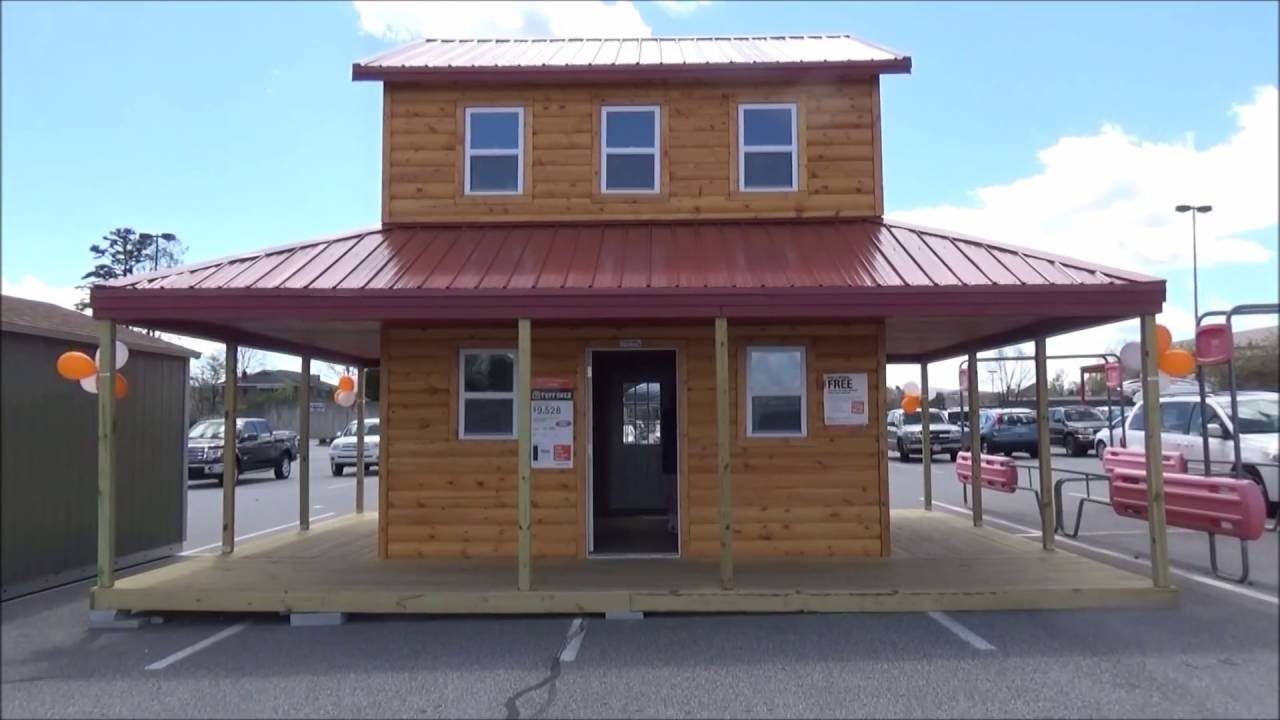 Tiny House For Sale At Home Depot Youtube