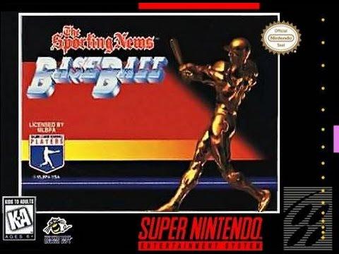 The Sporting News Power Baseball (Super Nintendo) - Game Play