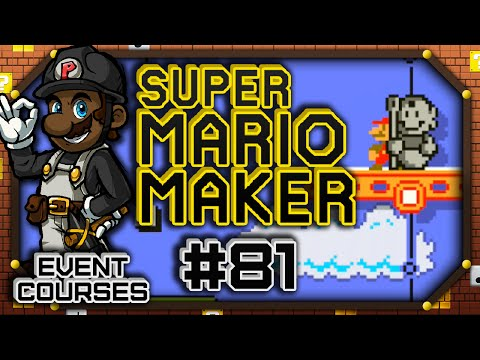 Statue Mario is Light! - Event Courses (4/29/16) | Super Mario Maker Part #81