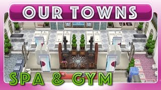 Sims Freeplay - Spa Gym Beauty Salon (original House Design)