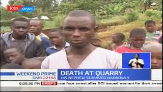 One man dies after quarry collapses in Kisii