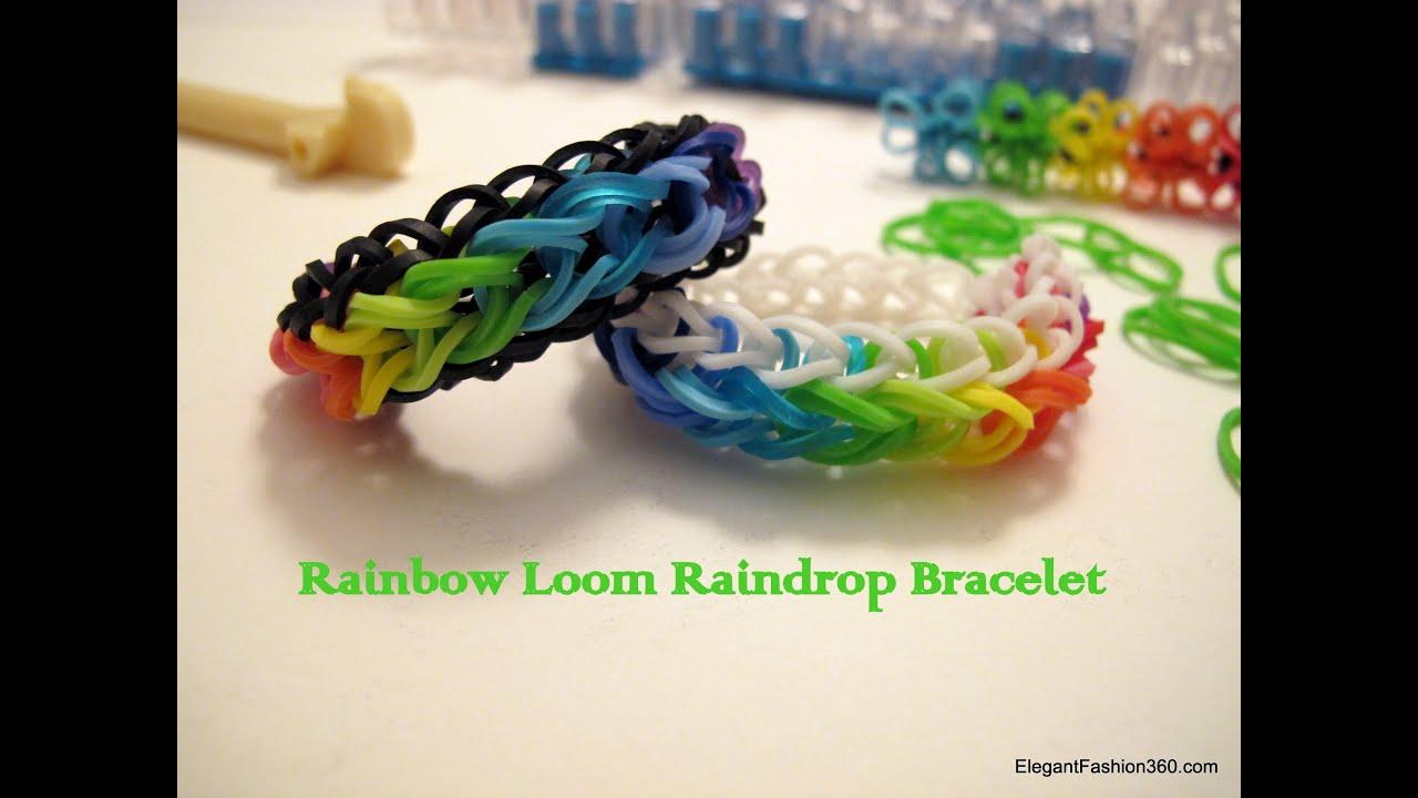 how to make rainbow loom marvel