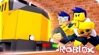 🤖 WE DERAIL the JAILBREAK TRAIN! BUG JAILBREAK ? ROBLOX