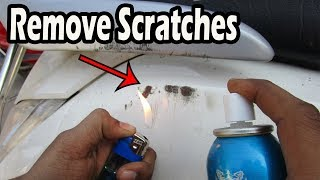 How To Remove Scratches From The Bike Or Car at Home | Technical Ninja