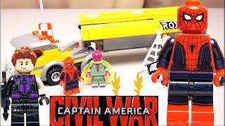 LEGO Marvel Super Heroes 76067 Нападение на бензовоз Обзор конструктора Лего Человек-паук супергерои(, 2016-07-31T12:23:08.000Z)