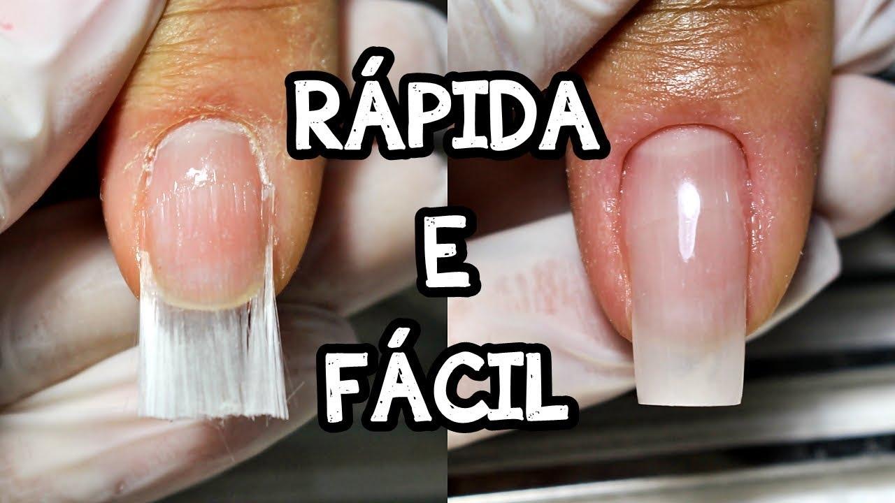 UNHAS DE FIBRA RÁPIDA E FÁCIL
