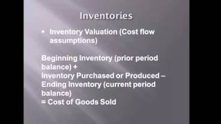 Operating Assets Liabilities and Shareholders Equity - Lecture 2