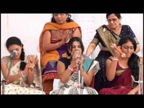 MAHILA MANDAL BHAJAN SAMMELAN OF INDIA AT LOTARVA JAN 15TH 2014
