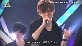 2017/02/22 いただきハイジャンプ 『OVER THE TOP』Hey! Say! JUMP.
