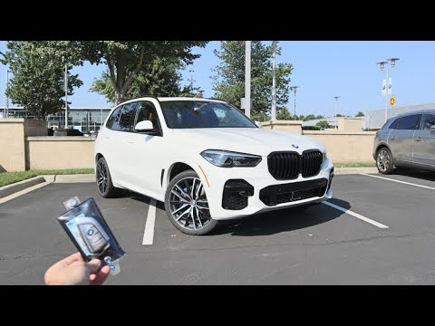 2022 BMW X5 M50i: Start Up, Exhaust, POV, Test Drive and Review