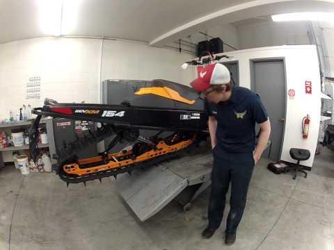 Snowmobile Rear Suspension Basics by DJ from Birds Of Prey Motorsports