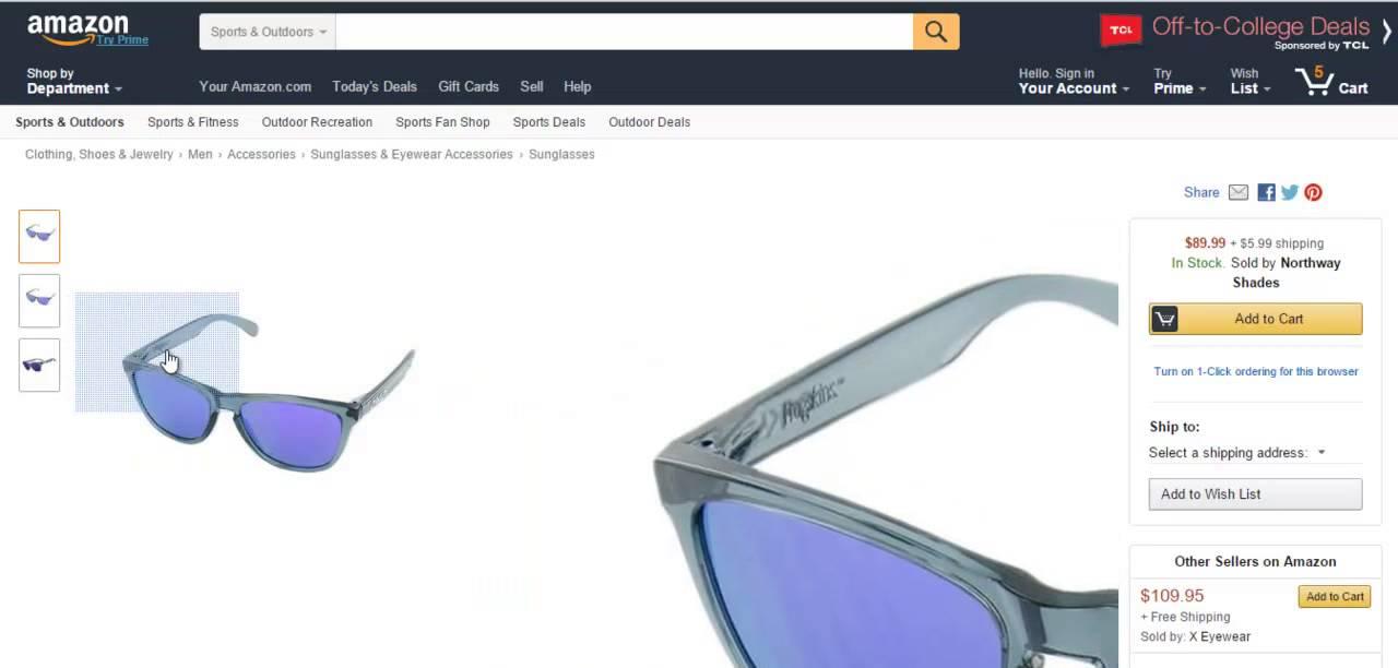 Como comprar gafas originales Frogskins Oakley por Internet Amazon ...